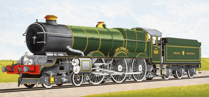 'King George V' 4-6-0 Expres Locomotive No 6000, 1927.