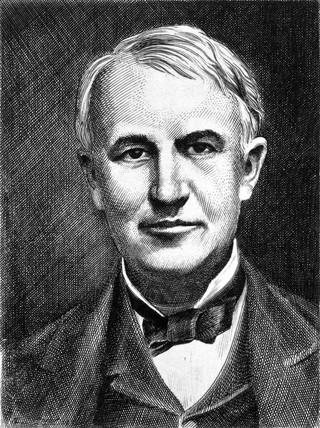 Thomas Edison, American inventor, c 1910.