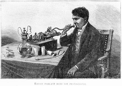 Thomas Edison, American inventor, 1899.