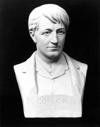 Thomas Edison, American inventor, 1889.