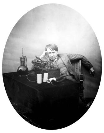 Thomas Edison, American inventor, 1888.