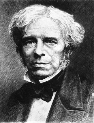 Michael Faraday, English physicist., c 1850s.