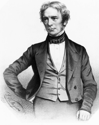 Michael Faraday, English physicist, 1851.