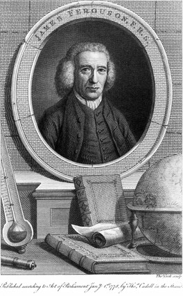 James Ferguson, Scottish astronomer, c 1760s.