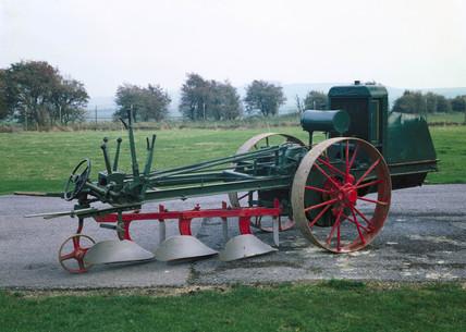 Crawley motor plough, 1919.