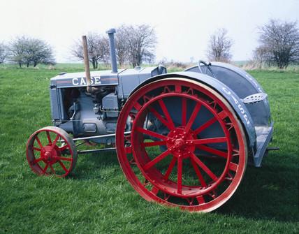 Case model 'L' 47hp tractor, 1931.