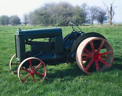 Rushton 27 hp tractor, 1930.