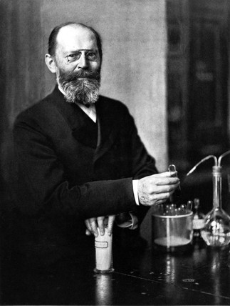 Emil Fischer, German organic chemist, 1904.