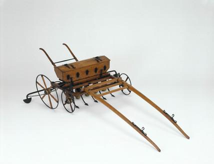 Morton's seed drill, 1828.