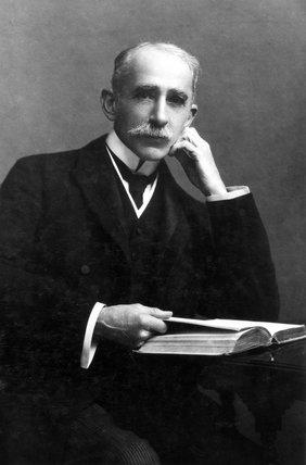 Sir John Ambrose Fleming, English physicist and electrical engineer, 1904.