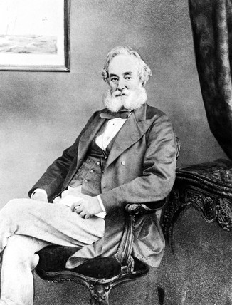 Benjamin Fothergill, c 1870s.