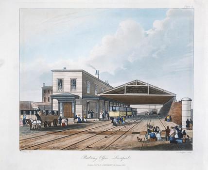 'Railway Office, Liverpool', 1831.