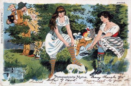 Photographische Motive, postcard, 1902.