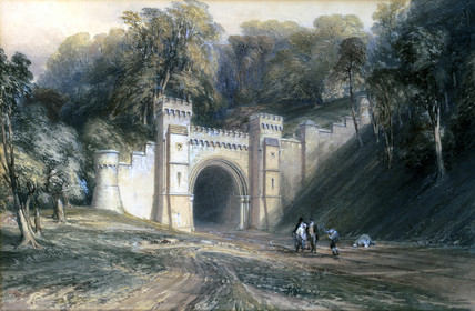 Shugborough Tunnel, Staffordshire, c 1846.
