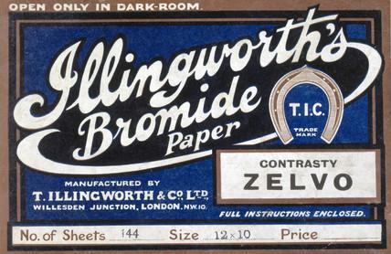 Illingworth's Bromide Paper, c 1930s.