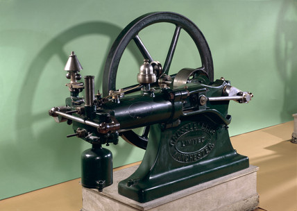 Otto gas engine, 1876.