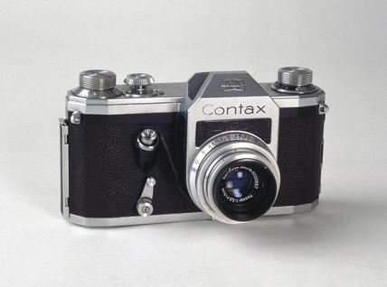 Contax single lens reflex camera, c 1950s.