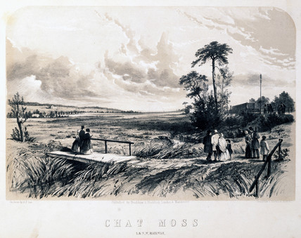 Chat Mos, near Liverpool, 1848.