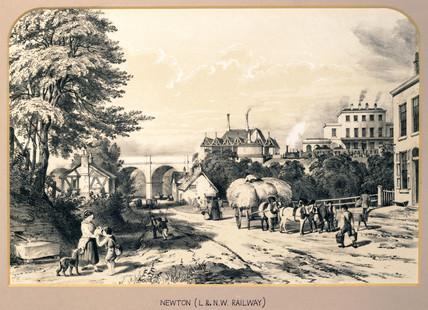Newton, Cheshire, London & North Western Railway, 1848.