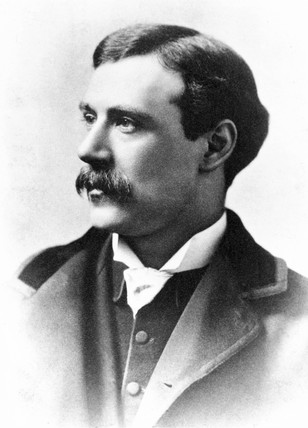 William Friese Greene, English pioneer cinematographer, c 1890.