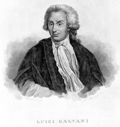 Luigi Galvani, Italian physiologist, c 1770s.