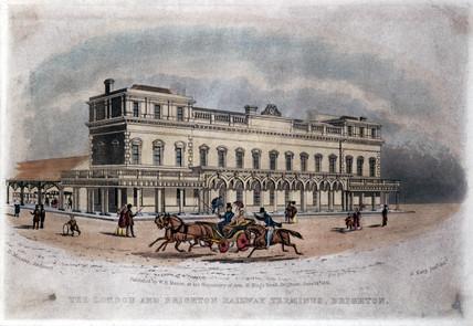 Brighton Station, 1841.