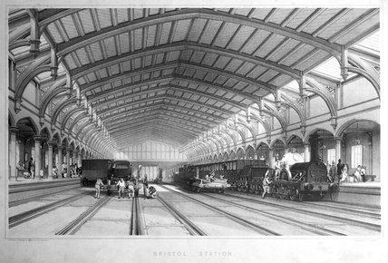 'Bristol Station', 1846.