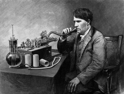 Thomas Edison, American inventor, 1888