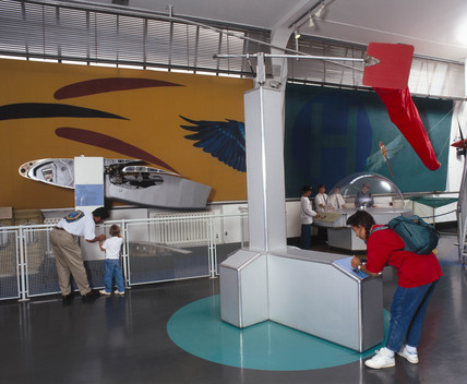 The Flight Lab at the Science Museum, 1996.