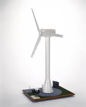 Howden's HWP 300 wind turbine, 1988.