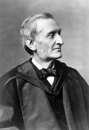 Profesor John Hall Gladstone, chemist, c 1890s.