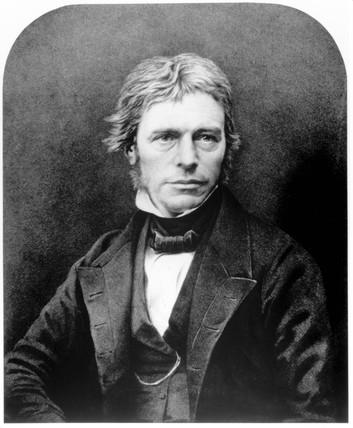Michael Faraday, English physicist, c 1830.
