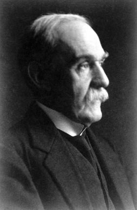 Sir Richard Glazebrook, President of the Physical Society, c 1900.