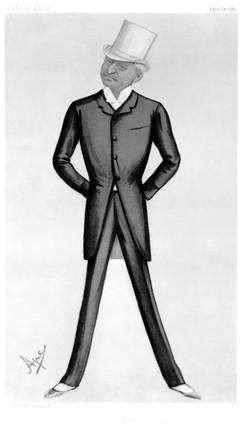 George Gouraud, American soldier, 1889.