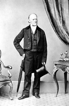 Robert Edmond Grant, British comparative anatomist, c 1840.