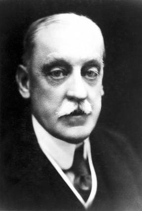 Sir Robert Abbott Hadfield, English metallurgist, early 20th century.
