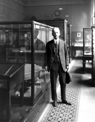 George Ellery Hale, American astronomer, 1918.