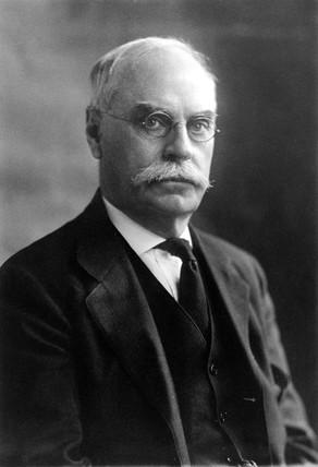 Edwin Hall, American physicist, c 1920.