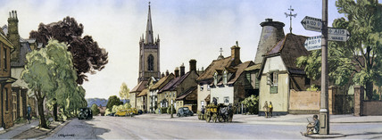 Bishop's Stortford, Hertfordshire, 1948-1965.