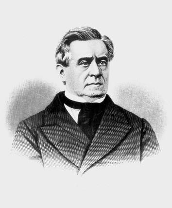 Joseph Henry, American physicist, mid 19th century.