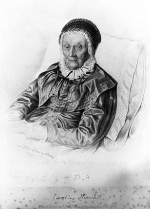 Caroline Herschel, English astronomer, 1847.