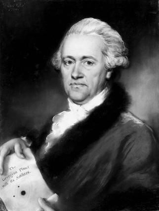 Sir William Herschel, German-British astronomer, 1794.