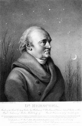 Sir William Herschel, German-British astronomer, 1814.