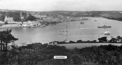 Salcombe, Devon, 1923-1947.