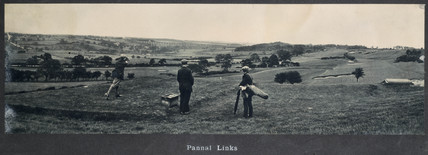 Pannal Links, NER carriage photograph,  1910-1922.