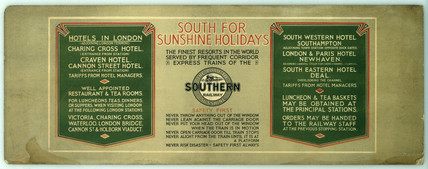 South for Sunshine Holidays.
