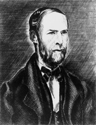 Hienrich Hertz , German physicist, 1886.