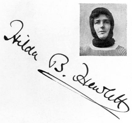 Hilda Hewlett, English aviation pioneer, c   1910-1920.