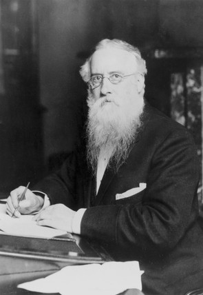 Alfred Hill, President of the Society for Analytical Chemistry, 1885-6.