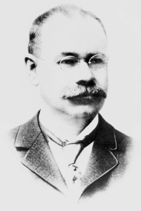Herman Hollerith, American inventor, 1900-1910.
